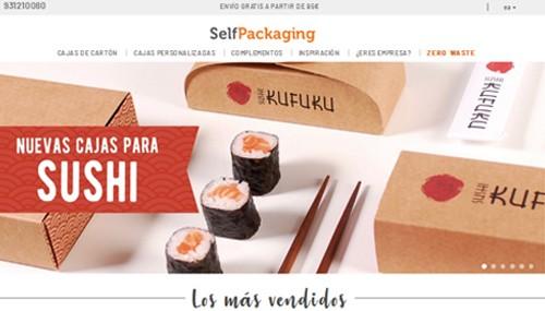 Ejemplo 1:Venta de cajas ecológicas personalizadas